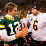 Aaron Rodgers and Jay Cutler will face off in a battle for NFC North leverage on Sunday. The Bears enter the contest 2-1, while the Packers are 1-2.