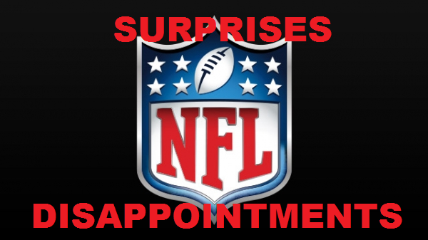 NFL Roundup: Surprises and Disappointments