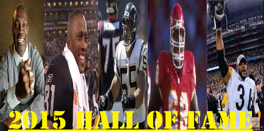 2015 NFL Hall of Fame Inductees
