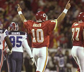 Trent Green: Courage Under Fire