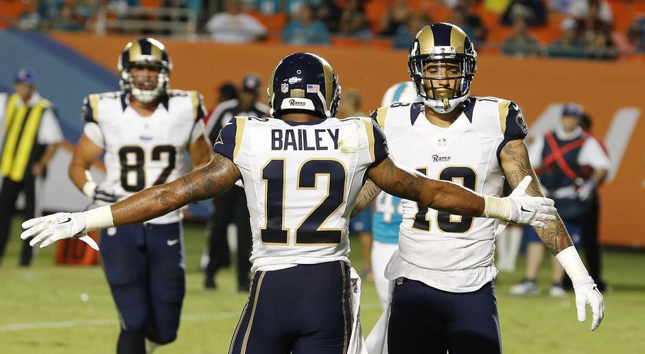 Stedman Bailey remains hospitalized after shooting
