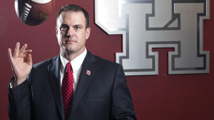 UH Coach Tom Herman