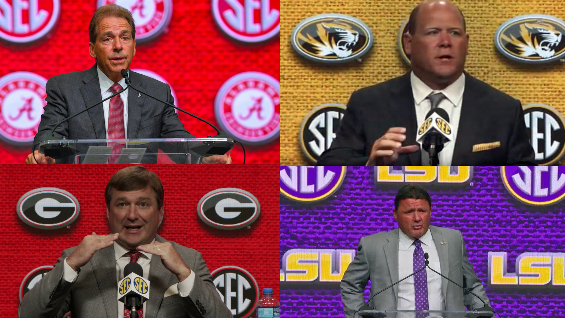 SEC football coaches ranked: 2019 edition