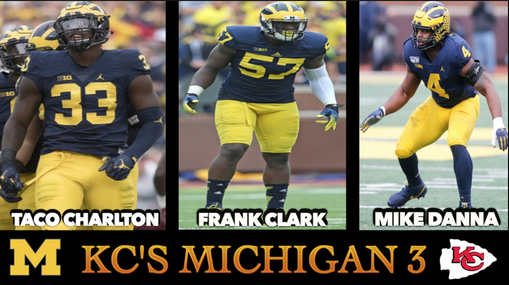 Videos: Get to know Taco Charlton Q&A and KC's Michigan 3