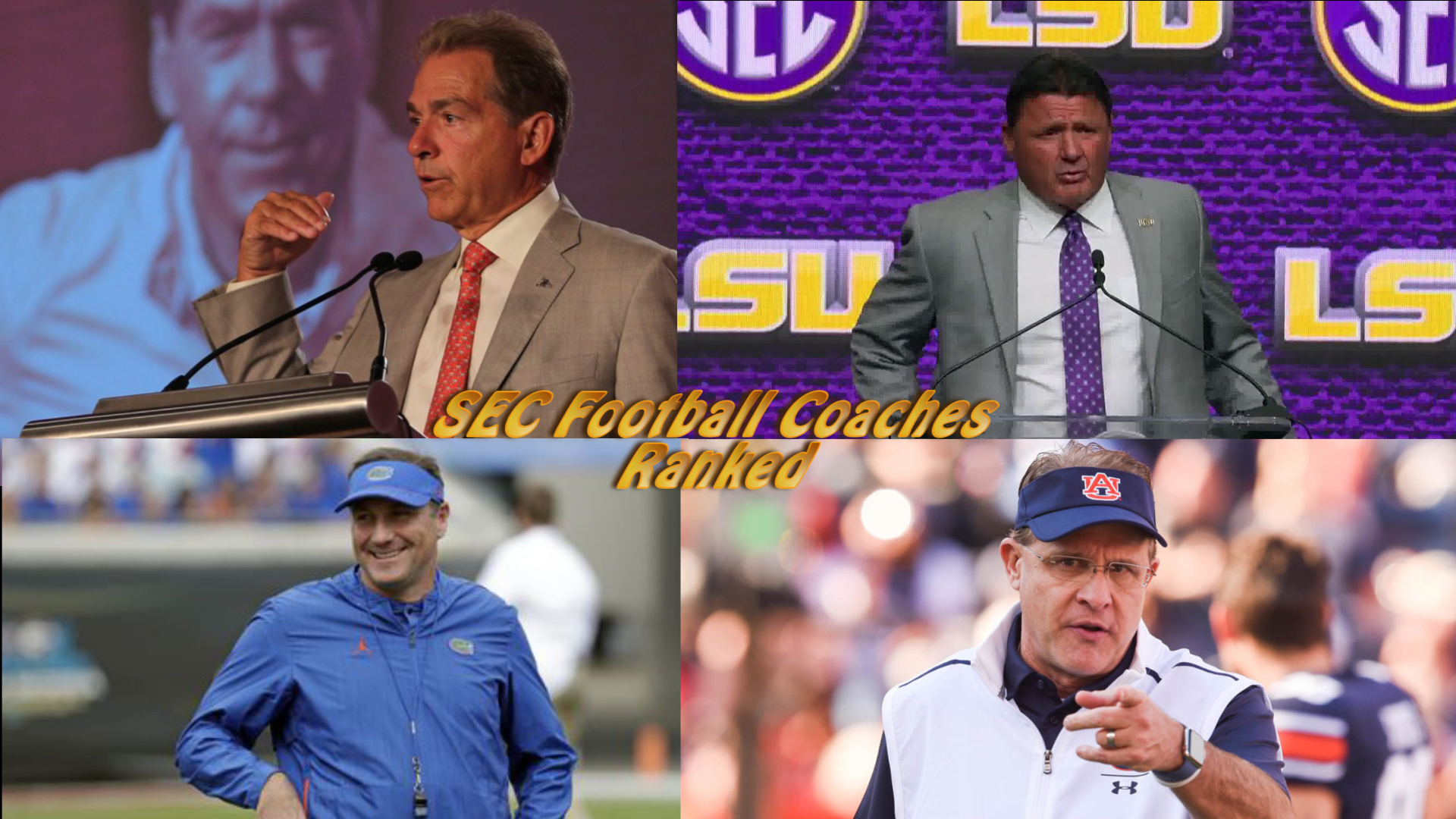 SEC football coaches ranked: 2020 edition