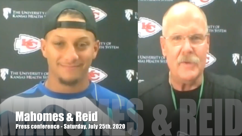 Mahomes & Reid: Press conference talking about LDT's decision & more
