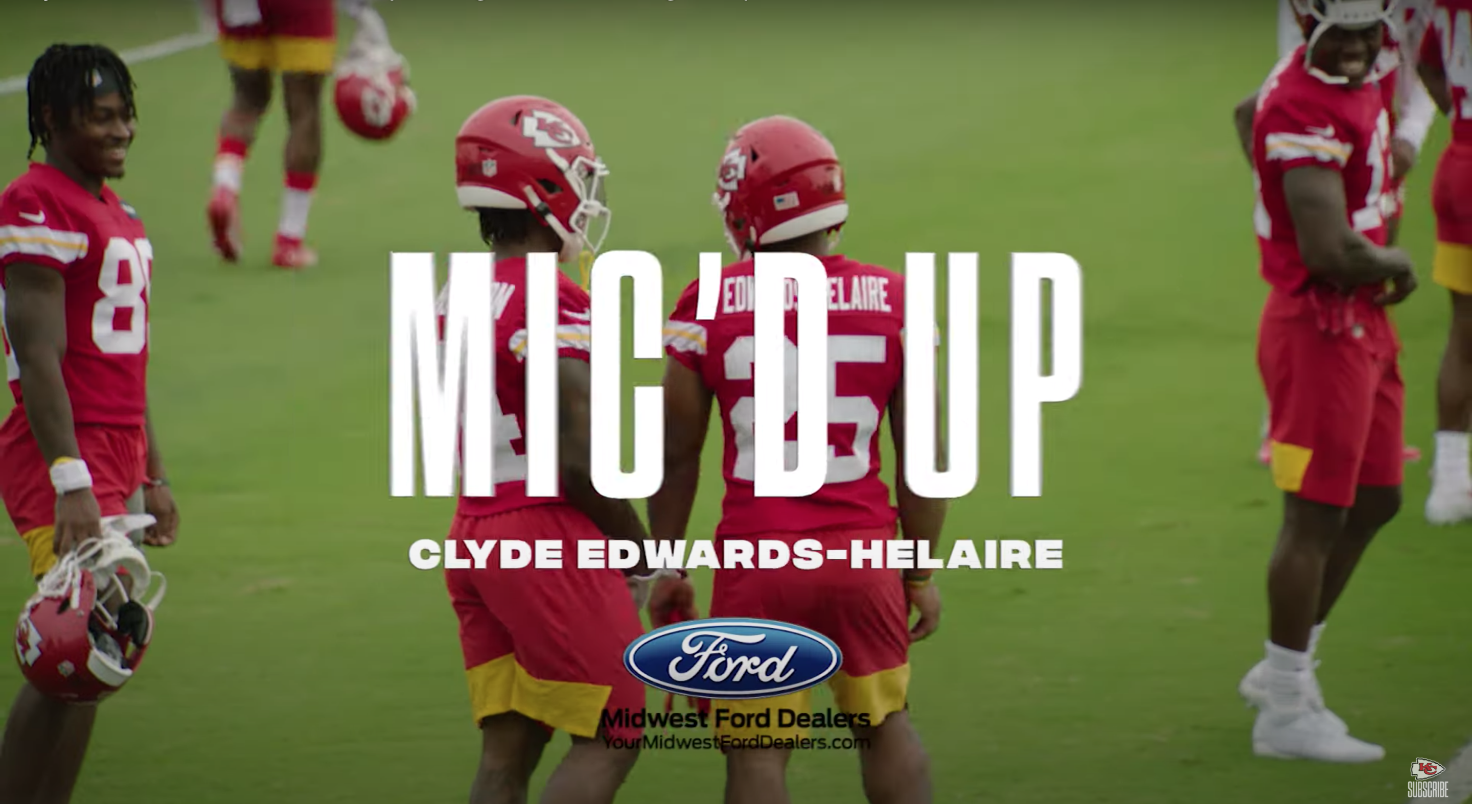 Watch: Clyde Edwards-Helaire was Mic'd Up for Chiefs Training Camp