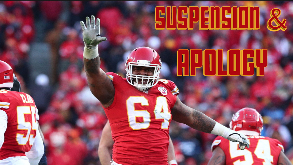 Breaking News: Chiefs DT Mike Pennel suspension and written apology