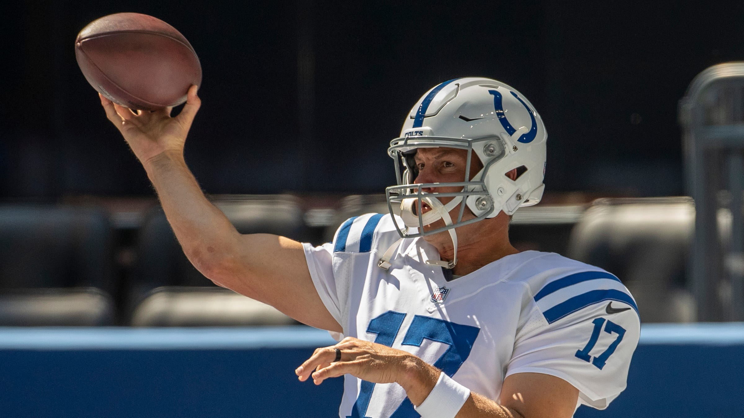 Colts fall in the first game 27-20 to division rival Jaguars